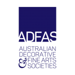ADFAS Blue Logo (Transparent/Vertical) For printing on coloured background