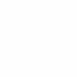 ADFAS White Logo (Transparent/Vertical) For printing on coloured background